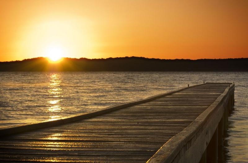 Sunrise-pier